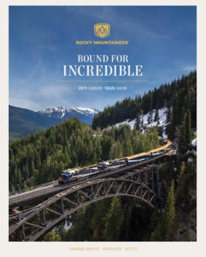 2019 Rocky Mountaineer Brochure Cover
